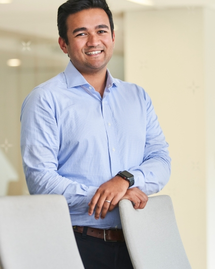 Headshot of Hamza Siddiqui