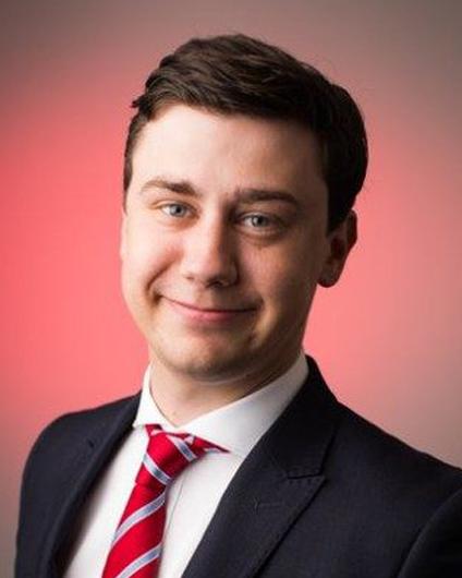 Headshot of James Mahon